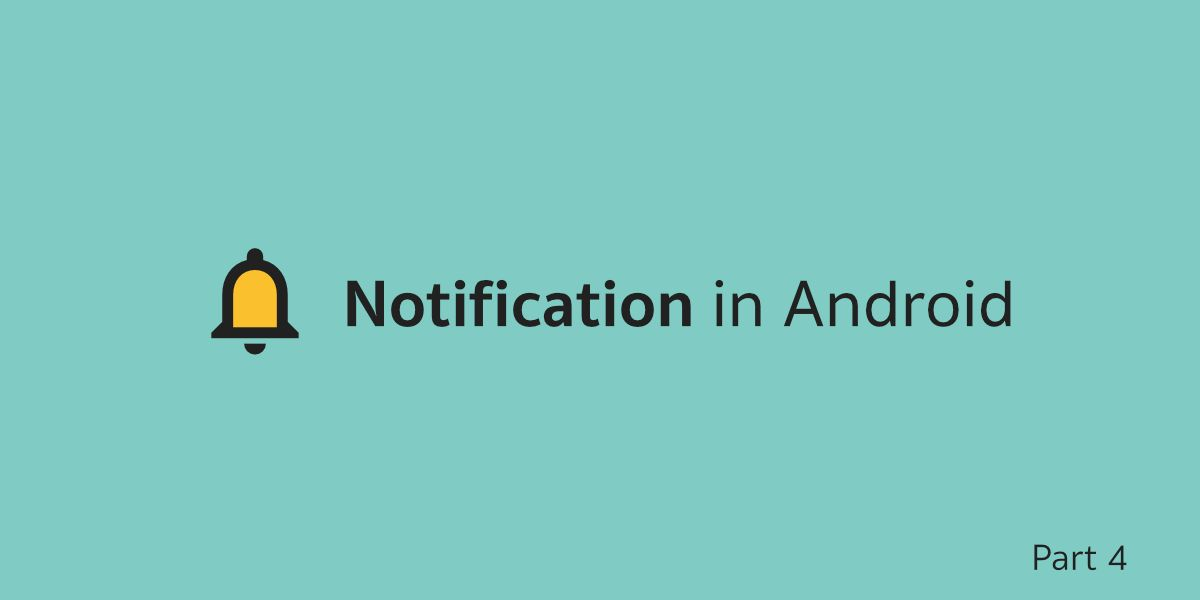 Notification in Android ตอนที่ 4 — Notification Action